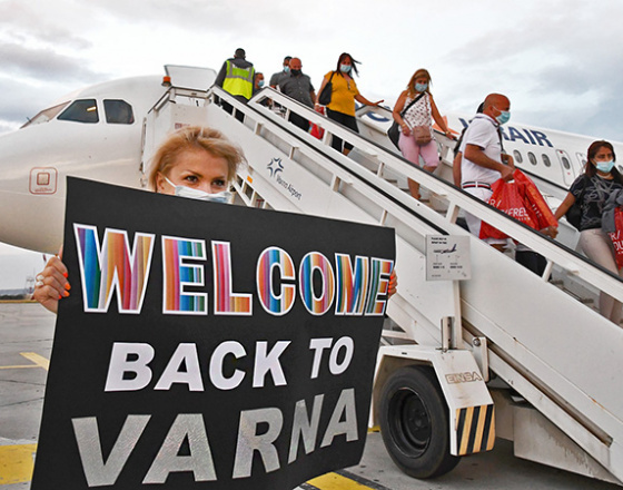 Varna Airport welcomed the first flight from Israel